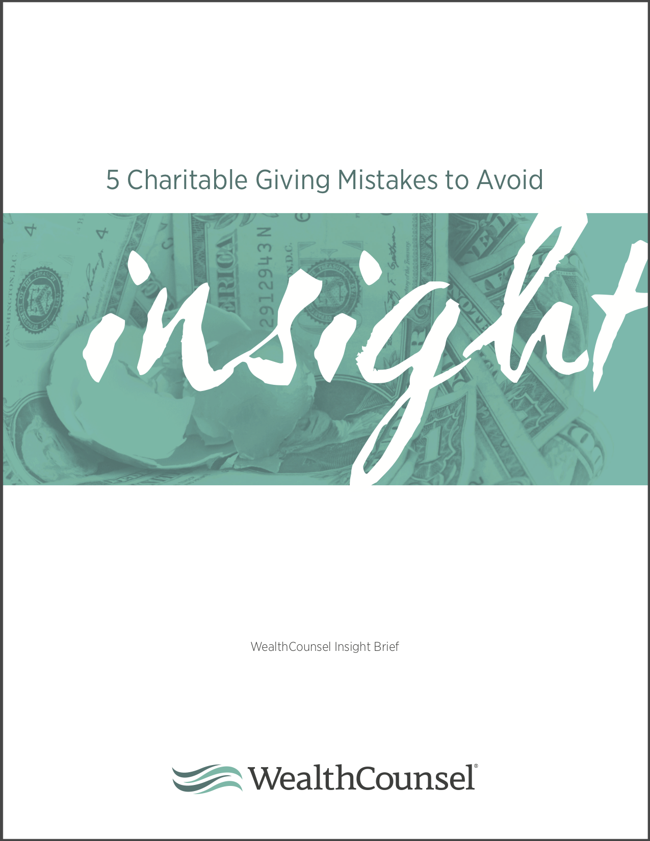 5 Charitable Giving Mistakes To Avoid Insight Brief Dragged
