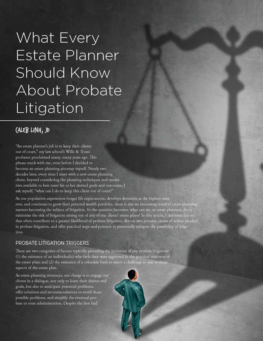 Probate Litigation Page 1