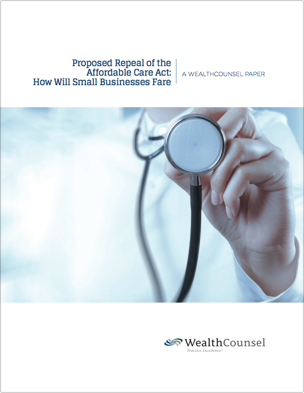 Proposed Repeal Of The Affordable Care Act How Will Small