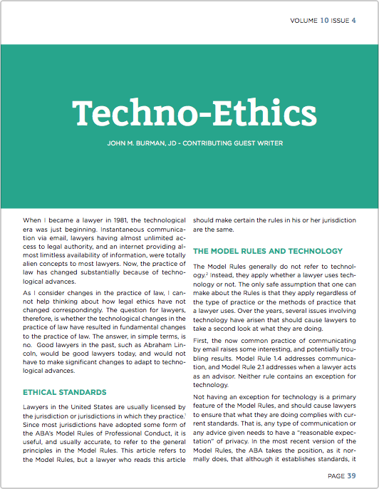 Techno Ethics Examining The Impact That Technological Advances And