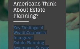 2016 Estate Planning Awareness Survey
