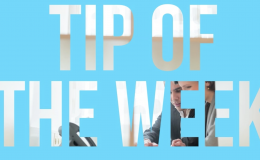 Tip Of The  Week  Thumbnail